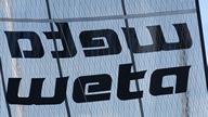 Weta 4.4 - Mylar-Segel mit Logo